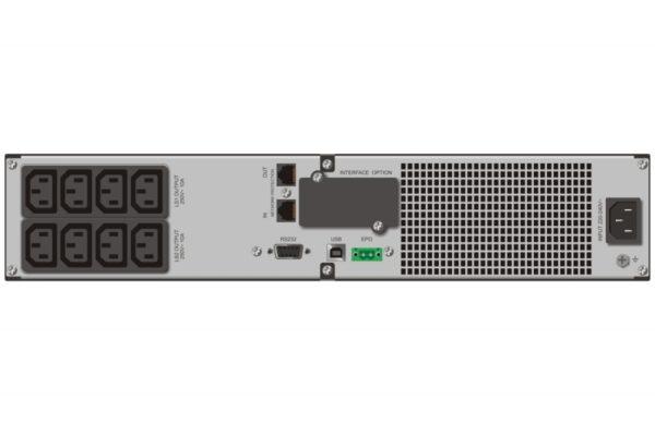 "UPS MUSTEK PowerMust 2018S NetGuard (2000VA) Line Interactive, IEC, ""98-LIC-N2018"" (include timbru verde 3 lei)"