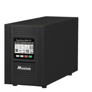 """UPS MUSTEK PowerMust 2016 online LCD (2KVA), IEC, """"98-ONC-X2016"""" (include timbru verde 3 lei)"""