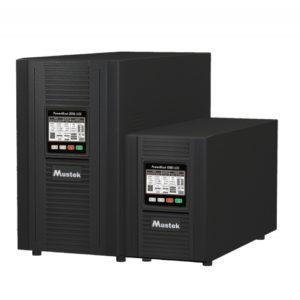 """UPS MUSTEK PowerMust 1080 online LCD (1KVA), IEC, """"98-ONC-X1008"""" (include timbru verde 3 lei)"""