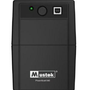 """UPS MUSTEK PowerMust 848.. (850VA) Line Interactive, IEC, """"98-LIC-N0848"""" (include timbru verde 3 lei)"""
