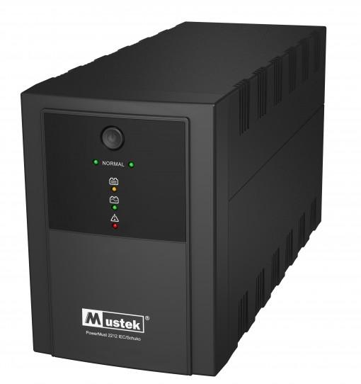 """UPS MUSTEK PowerMust 2212 (2200VA) Line Interactive, IEC/Schuko, """"98-LIC-L2212"""" (include timbru verde 3 lei)"""