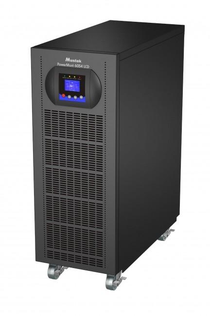 """UPS MUSTEK PowerMust 6054 online LCD (6KVA), IEC, """"98-ONC-X6054"""" (include timbru verde 3 lei)"""