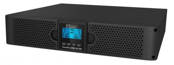 """UPS MUSTEK. PowerMust 2018 online LCD RM (2KVA), IEC, """"98-ONC-R2018"""" (include timbru verde 3 lei)"""